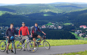 Mountain bike tourism in Krkonose