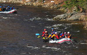Rafting on Jizera River